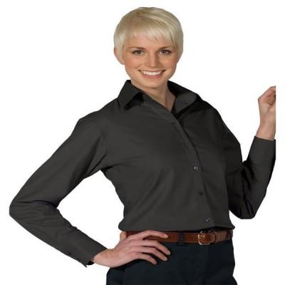 レディース 衣類 トップス Edwards Garment Women's Matching Buttons Long Sleeve Blouse Style 5295 ブラウス&シャツ