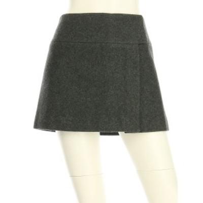 ミュウミュウ miumiu スカート サイズML M レディース 美品 グレー系 台形スカート【還元祭対象】【中古】20210220