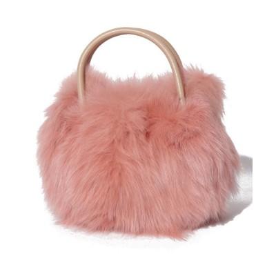 【サミールナスリ】 Fox Fur Bag レディース PINK F SMIR NASLI