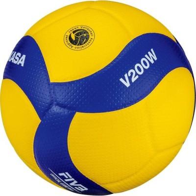 ミカサ MIKASA バレー5ゴウコクサイコウニンキ/アオ V200W TOP種目別スポーツバレーボールボールバレーボール5号
