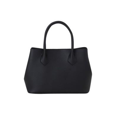 【クリームドット】 コバ塗りが上品な印象のデイリートートバッグ レディース ブラック ワンサイズ cream dot
