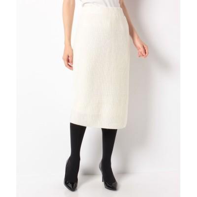 【アルアバイル】 カタアゼタイトスカート レディース グレージュ 02 allureville