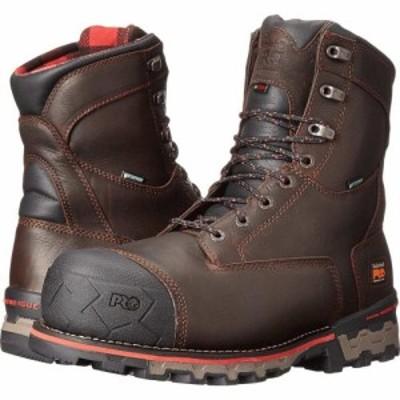 ティンバーランド Timberland PRO メンズ ブーツ シューズ・靴 8 Boondock 1000g Composite Safety Toe Waterproof Insulated Brown Tumb