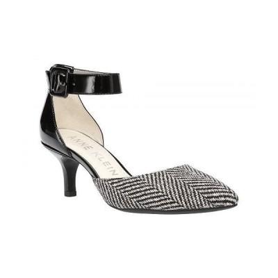 Anne Klein アン クライン レディース 女性用 シューズ 靴 ヒール Fabulist - Black/White Tweed