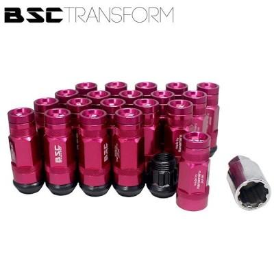 BSCトランスフォームナット 20本セット【ピンク】M14・M12