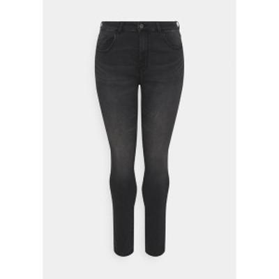 オンリー カルマコマ レディース デニムパンツ ボトムス CARVICKY LIFE - Jeans Skinny Fit - grey denim grey denim