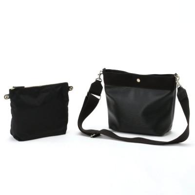 バッグ カバン 鞄 レディース ショルダーバッグ リプルショルダーバッグS[日本製] カラー 「ブラック」
