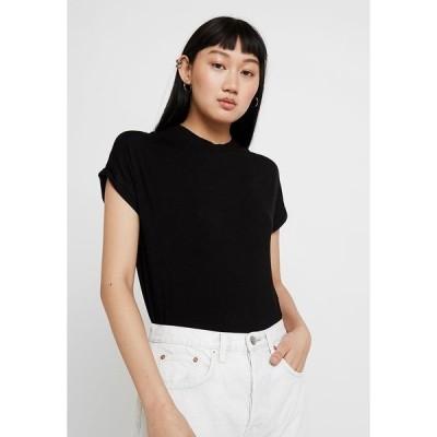 ノイジーメイ Tシャツ レディース トップス NMNOLA - Basic T-shirt - black