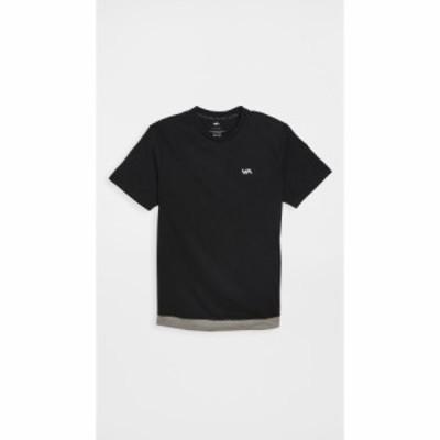 ルーカ スポーツ RVCA Sport メンズ 半袖シャツ トップス runner mesh short sleeve shirt Black