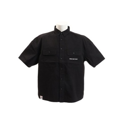 ヴィジョン(VISION) ワッペンワークシャツ 9523129-01BLK  (メンズ)