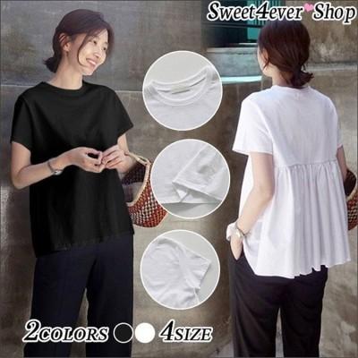 [55555SHOP]  大きいサイズ商品超特価 チュニック ワンピース レディース トップス カットソー Tシャツ Vネック シャツ ブラウス 体型カバー 春 夏