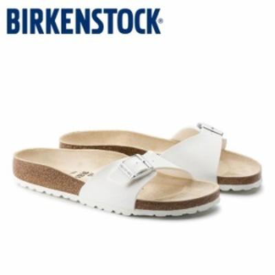 ビルケンシュトック BIRKENSTOCK マドリッド レディース サンダル コンフォートサンダル 白 ホワイト リラックスサンダル ビルコフロー