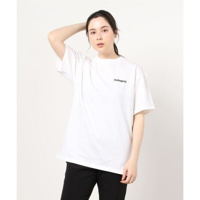 tシャツ Tシャツ 『mahagrid/マハグリッド』RAINBOW REFLECTIVE LOGO TEE/レインボー リフレクティブ ロゴ 半袖T