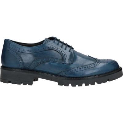 ボッテガ マルキジャーナ BOTTEGA MARCHIGIANA メンズ シューズ・靴 laced shoes Blue