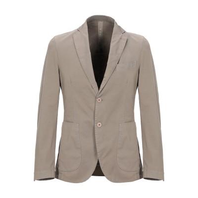 FAG テーラードジャケット グレー 46 コットン 97% / ポリウレタン 3% テーラードジャケット
