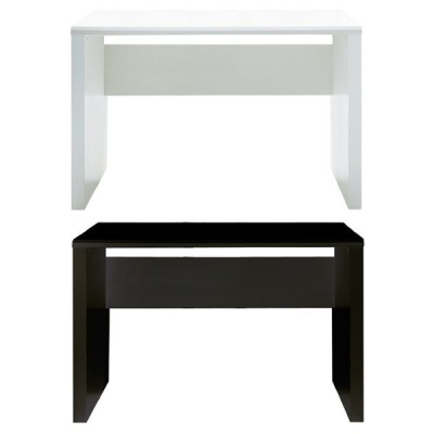 パソコンデスク ワークデスク テーブル G-RAIN 幅100cm×奥行60cm シンプル コード収納 ホワイト 白 ブラック 黒 木目 ハイグロス UV塗装