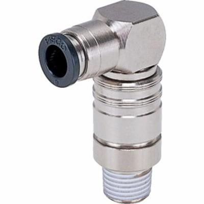 ピスコ 金型温調継手 エルボ (1個) 品番:AKL08-801
