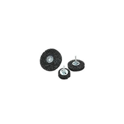 (50mm)BEST6mmシャンクブラックダイヤモンドサビ除去研削ディスクペイントピーリングサンディングホイール