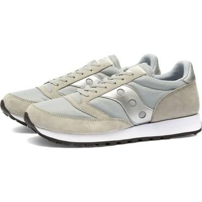 サッカニー Saucony メンズ スニーカー シューズ・靴 jazz '81 Grey/Silver