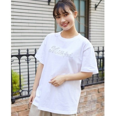 tシャツ Tシャツ STITCH EMBROIDERY S/S TEE
