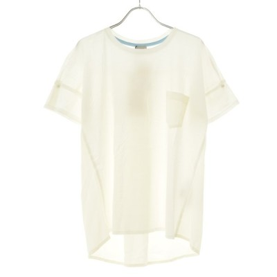 MARELLA / マレーラ 異素材切替 半袖Tシャツ