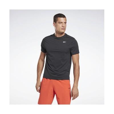 【リーボック】 ユナイテッド バイ フィットネス パーフォレーテッド Tシャツ / United By Fitness Perforated Tee メンズ ブラック XS Reebok