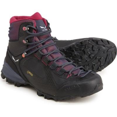 サレワ Salewa レディース ハイキング・登山 ブーツ シューズ・靴 Alpenviolet Mid Gore-Tex Hiking Boots - Waterproof, Leather Ombre Blue/Fluo Coral