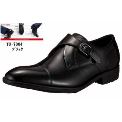 (テクシーリュクス)TEXCY LUXE TU-7004 モンクストラップ ドレストラッドビジネスシューズ  冠婚葬祭にも最適 スニーカービズ メンズ