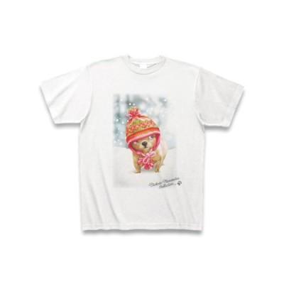村松誠 ビッグコミックオリジナル2017年2月20日号「雪と子犬」 Tシャツ(ホワイト)