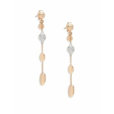 ロベルトコイン レディース ジュエリー Diamond & 18K Yellow Gold Drop Earrings