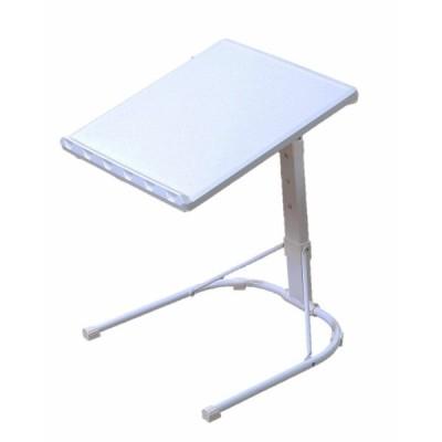 頑丈サイドテーブル 耐荷重25kg ホワイト