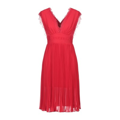 THREE FLOOR ミニワンピース&ドレス レッド 8 ポリエステル 100% ミニワンピース&ドレス