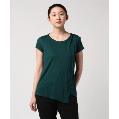 tシャツ Tシャツ モダールパネル半袖Tシャツ・カットソー
