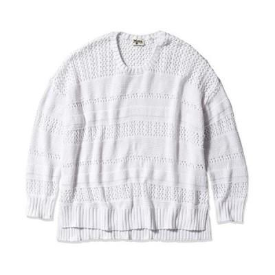 Show Me Your Mumu Women's Sweater, White Knit, XL並行輸入品 送料無料