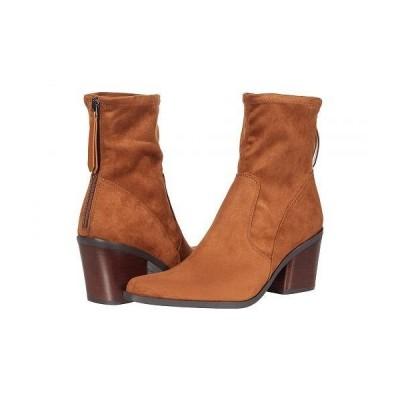 Naturalizer ナチュラライザー レディース 女性用 シューズ 靴 ブーツ アンクル ショートブーツ Ella - Chestnut Stretch Microfiber