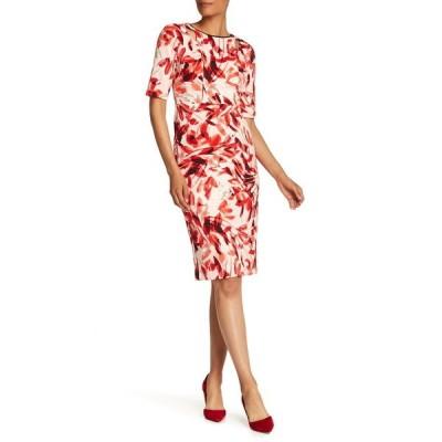 マギーロンドン レディース ワンピース トップス Textured Cutout Dress BLUSH FLAME