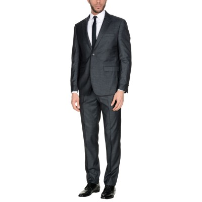 DOMENICO TAGLIENTE スーツ スチールグレー 48 ポリエステル 65% / レーヨン 35% スーツ