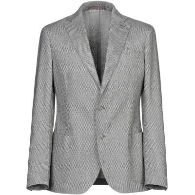 イレブンティ ELEVENTY テーラードジャケット スチールグレー 50 コットン 99% / ポリウレタン 1% テーラードジャケット
