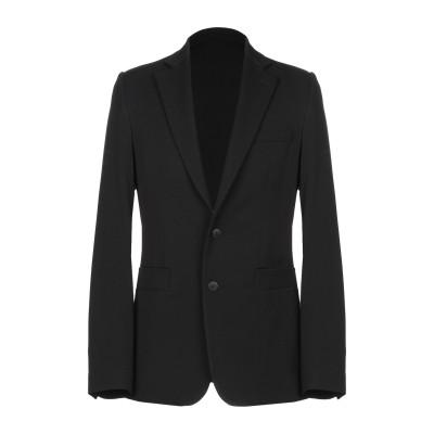 セドリック シャルリエ CEDRIC CHARLIER テーラードジャケット ブラック 48 バージンウール 90% / ナイロン 8% / 指定外