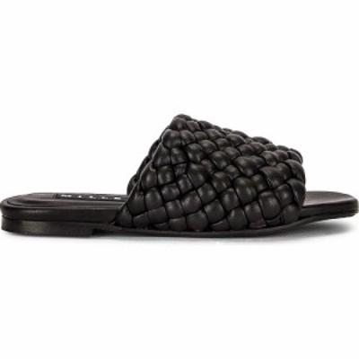 サイモンミラー Simon Miller レディース サンダル・ミュール シューズ・靴 Vegan Slit Slide Black