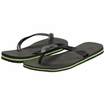 ハワイアナス Havaianas メンズ ビーチサンダル シューズ・靴 Brazil Flip Flops Black