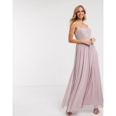 リプシー レディース ワンピース トップス Lipsy multiway maxi dress in lavender Lavender