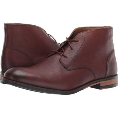 クラークス Clarks メンズ ブーツ シューズ・靴 Flow Top British Tan Leather