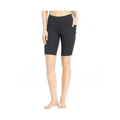 "Brooks ブルックス レディース 女性用 ファッション ショートパンツ 短パン 9"" Greenlight Shorts Tights - Black"