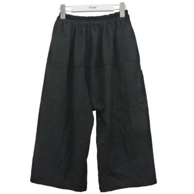 RAF SIMONS '18SS 「SHORT PANTS WITH ELASTIC」イージーショートパンツ ブラック サイズ:44 (渋谷神南店)