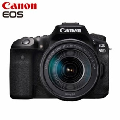 【送料無料】Canon キヤノン デジタル一眼レフ EOS 90D EF-S18-135 IS USM レンズキット EOS90D18135ISUSMLK
