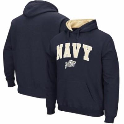 Stadium Athletic スタジアム アスレティック スポーツ用品  Stadium Athletic Navy Midshipmen Navy Arch & Logo Tac