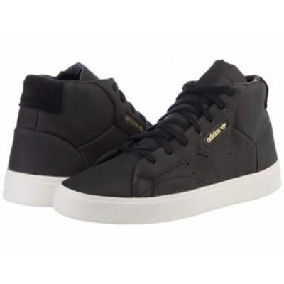 adidas Originals アディダス レディース 女性用 シューズ 靴 スニーカー 運動靴 Sleek Mid Black/Black/Crystal White【送料無料】