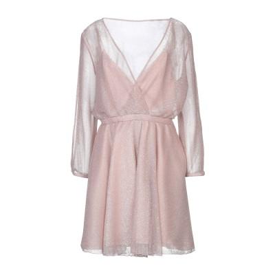 FELEPPA ミニワンピース&ドレス ピンク 46 ポリエステル 100% ミニワンピース&ドレス