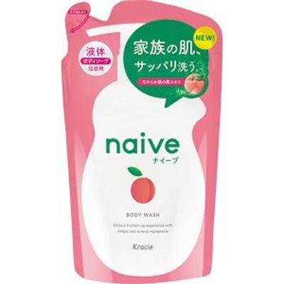 【クラシエ】 ナイーブ ボディソープ(桃の葉エキス配合)詰替用 380ml